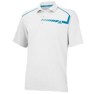 Adidas ClimaChill Chest Print Polo Golf Shirt 2014