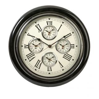 Imax Worldwide 60105 Five Country Wall Clock