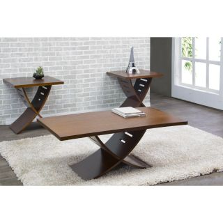 Wholesale Interiors Helix 3 Piece Coffee Table Set