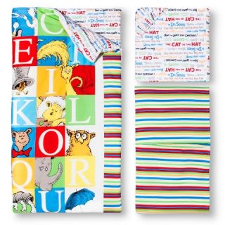 Dr. Seuss by Trend Lab 3pc Crib Bedding Set – Alphabet Seuss