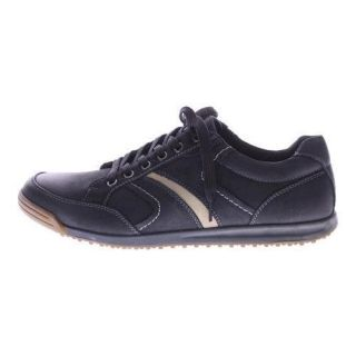 Mens Spring Step Mora Lace Up Black Nubuck Leather   17685879