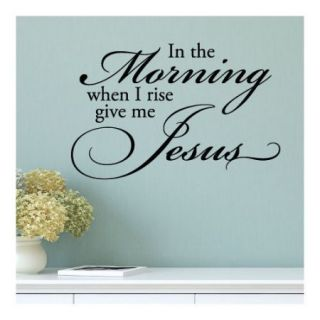 Belvedere Designs LLC Quotes Give Me Jesus Wall Decal