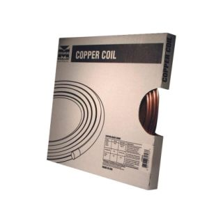 Mueller 1/4 in. x 20 in. Coil Tube (D 04020P)   Copper Tubing