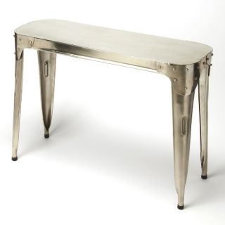 Butler Specialty Industrial Chic Sofa Table   Console Tables
