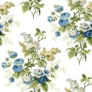 York Wallcoverings 56 sq. ft. Waverly Cottage Emma's Garden Wallpaper ER8178