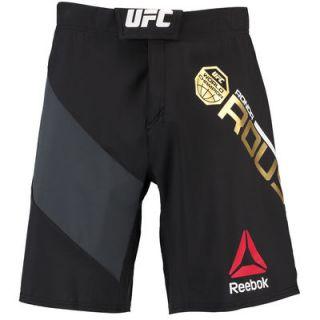Ronda Rousey UFC Reebok Octagon Short   Charcoal