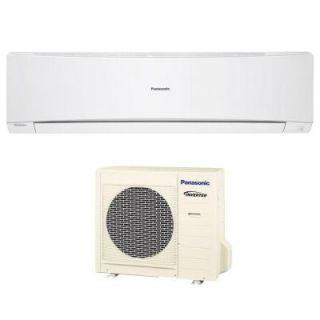 Panasonic 18,000 BTU 1.5 Ton Ductless Mini Split Air Conditioner with Heat Pump   208 or 230V/60Hz E18NKUA