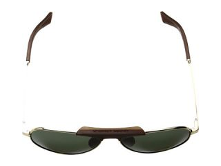 Under Armour Getaway Shiny Gold/Dark Crystal Brown Frame/Green Lens