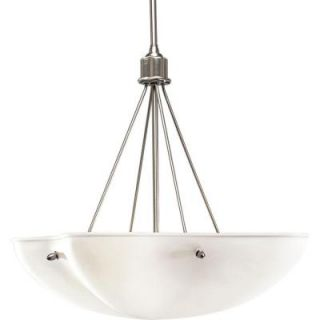 Progress Lighting Michael Graves Collection 4 Light Brushed Nickel Foyer Pendant P3603 09