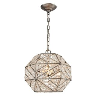 Elk Lighting Constructs 11836/3 Pendant Light   Pendant Lights