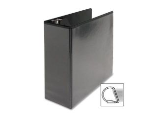 "D Ring View Binder 4"" Capacity 11x8 1/2"" Black"