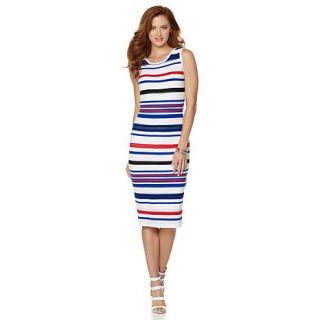 Chiqui Delgado Sleeveless Striped Dress   8057312