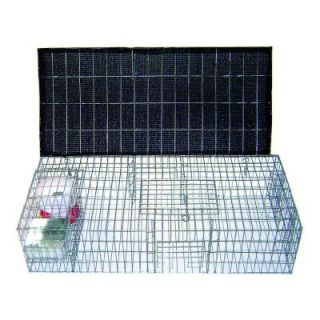Bird B Gone 35 in. x 16 in. x 8 in. Pigeon Trap with Shade, Food and Water Containers BMP SW/SP SFW
