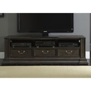 ... Mendenhall Rustic Grey 72 Inch TV Console 17714811 ...